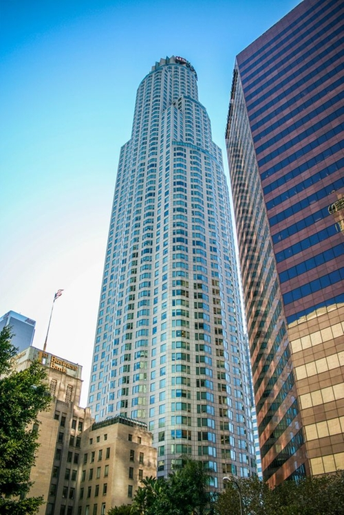 U.S. Bank Tower Los Angeles, California in Furious 7