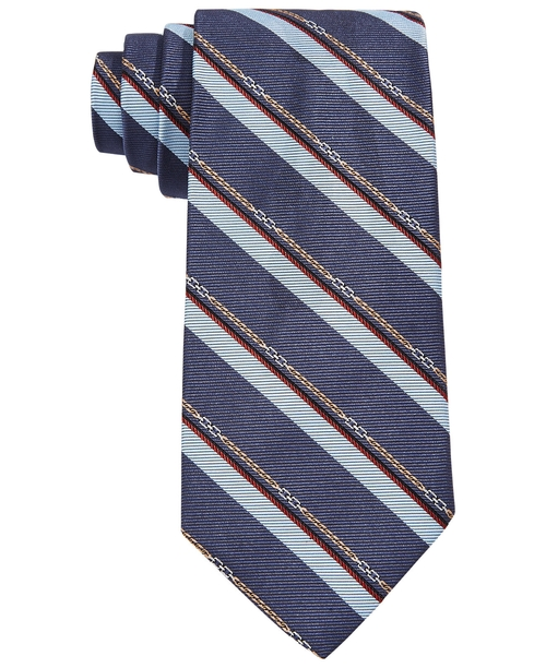 Horsebit Stripe Tie by Brooks Brothers in Brooklyn Nine-Nine - Season 3 Episode 9