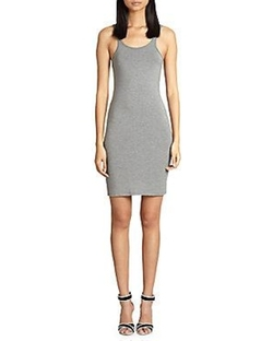 Stretch Jersey Tank Dress by T by Alexander Wang in Keeping Up With The Kardashians