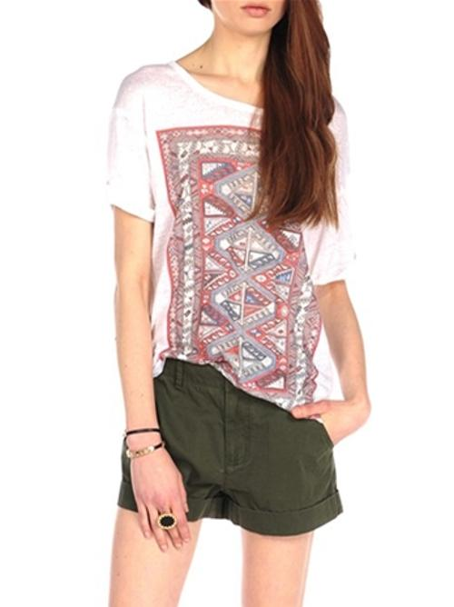 Paisley Tee by House Of Harlow 1960 in Neighbors