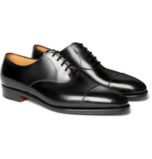 City Ii Leather Oxford Shoes by John Lobb in Suits - Season 5 Episode 2