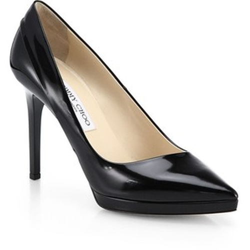 Rudy Patent Leather Asymmetrical Pumps by Jimmy Choo in Confessions of a Shopaholic