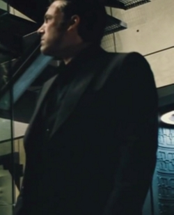 Custom Made Black Peak Lapel Suit by Gucci in Batman v Superman: Dawn of Justice