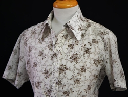 Custom Made Floral Vine Button Shirt by Anto Beverly Hills in The Nice Guys