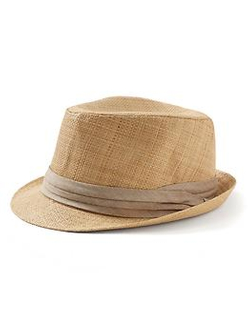 Straw Fedora Hat by Banana Republic in Rock The Kasbah