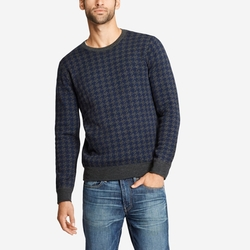 Merino Houndstooth Crewneck Sweater by Bonobos in New Girl