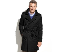 Kingston Belted Trench Coat by Ralph Lauren in Vice