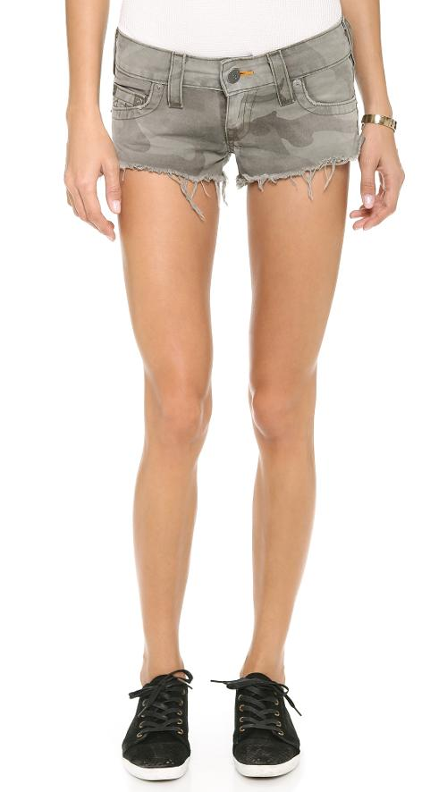 Camo Bobby Shorts by True Religion in Beyond the Lights