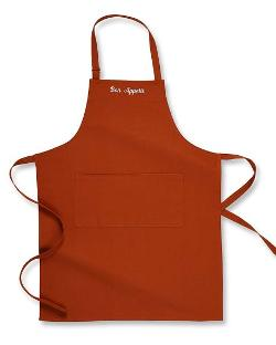 Personalized Seasonal Solid Apron by Williams-Sonoma in Ted