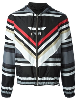 Striped Hooded Jacket by Givenchy in Ballers