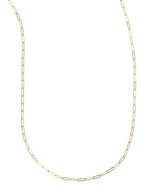Plated Oval-Link Chain Necklace by Sarah Chloe in The Best of Me