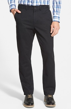 Straight Leg Washed Chino Pants by Nordstrom in Modern Family