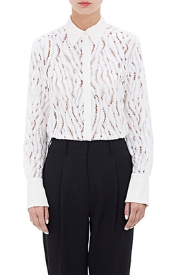 Tiger Lace Blouse by Phillip Lim in Brooklyn