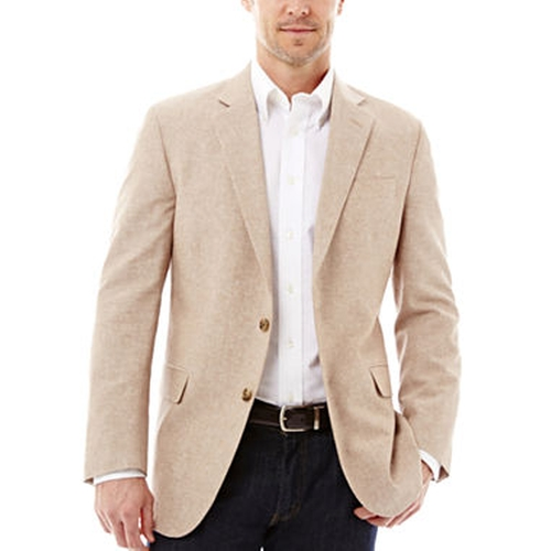 Signature Linen-Cotton Sport Coat by Stafford in Spotlight