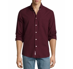 Standard Issue Brushed Cotton Sport Shirt by Rag & Bone in Suicide Squad