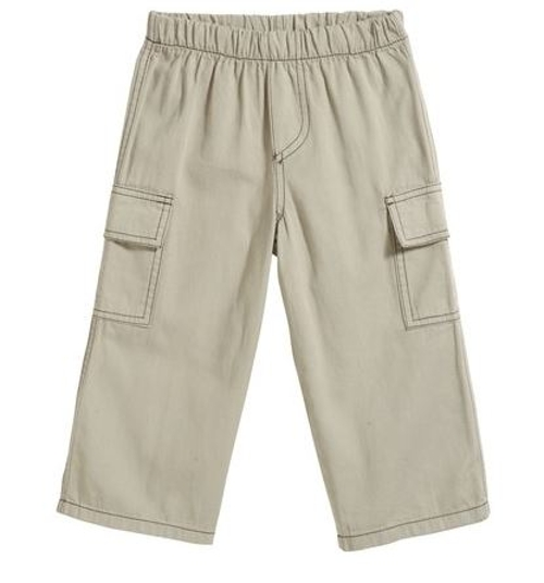 Soft Twill Cargo Pants by City Threads in Boyhood