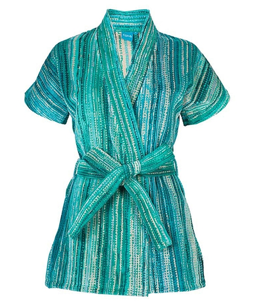Green Grass Beach Kimono Robe by Elaiva in Knocked Up
