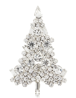 Crystal Tree Brooch by R.J. Graziano  in Scandal
