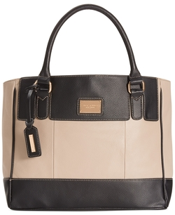 Leather Tote Bag by Tignanello in The Mindy Project