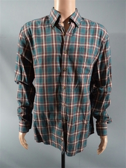 Button Down Plaid Shirt by Heritage Viyella in If I Stay