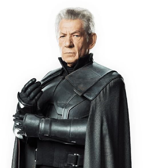 Custom Made Erik Lehnsherr / Magneto (Older) Costume by Louise Mingenbach (Costume Designer) in X-Men: Days of Future Past
