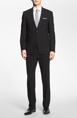 Trim Fit Stretch Wool Suit by Michael Kors in Arrow