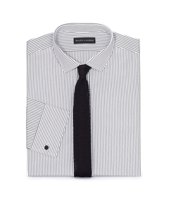 Tailored-Fit French-Cuff Shirt by Ralph Lauren in Legend