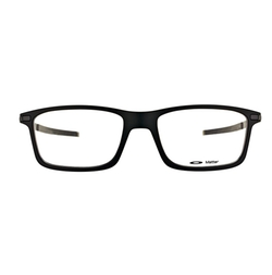 Rectangle Plastic Eyeglasses by Oakley in Casual