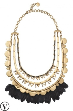 Plume Necklace by Stella & Dot  in Pretty Little Liars