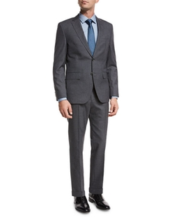 Tonal Stripe Two-Piece Suit by Boss in Designated Survivor