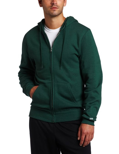 Training Fleece Zip Hoodie Jacket by Soffe in The Intern