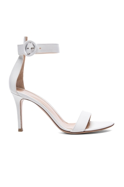 Leather Portofino Sandals by Gianvito Rossi in Keeping Up With The Kardashians