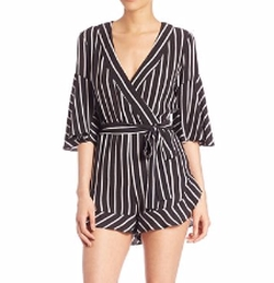 Striped Short Jumpsuit by Nicholas in The Bold Type