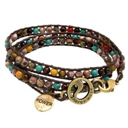 Beaded Spiral Bracelet by Blu Bijoux in Crazy, Stupid, Love.