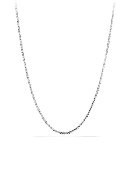 Small Box Chain Necklace by David Yurman in Southpaw