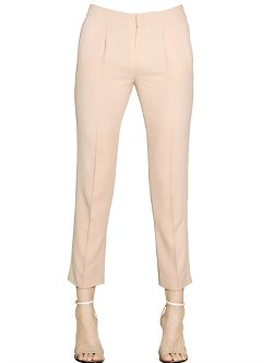 Light Viscose Cady Trousers by Chloe in The Best of Me