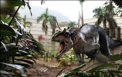 Indominus Rex by Seth Engstrom & Dean Sherriff (Concept Artist) in Jurassic World