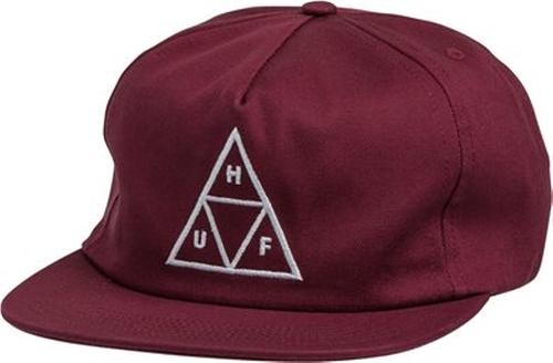 Triple Triangle Snapback Hat by Huf in Ocean's Eleven