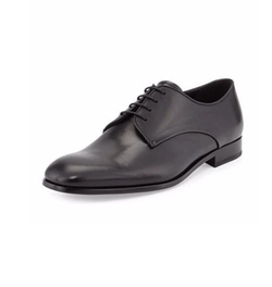 Rubber-Bottom Dress Oxford Shoes by Giorgio Armani in Suits