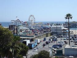 Los Angeles, California, USA by Santa Monica Pier in Wish I Was Here