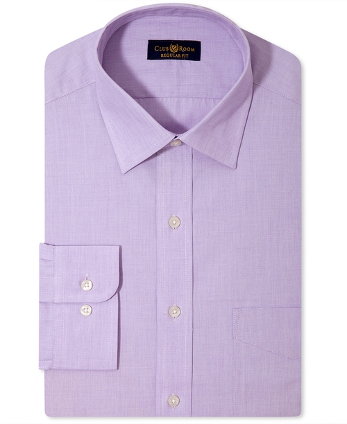 Solid Dress Shirt by Club Room in Creed