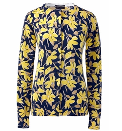 Supima Print Cardigan Sweater by Lands' End in Fuller House