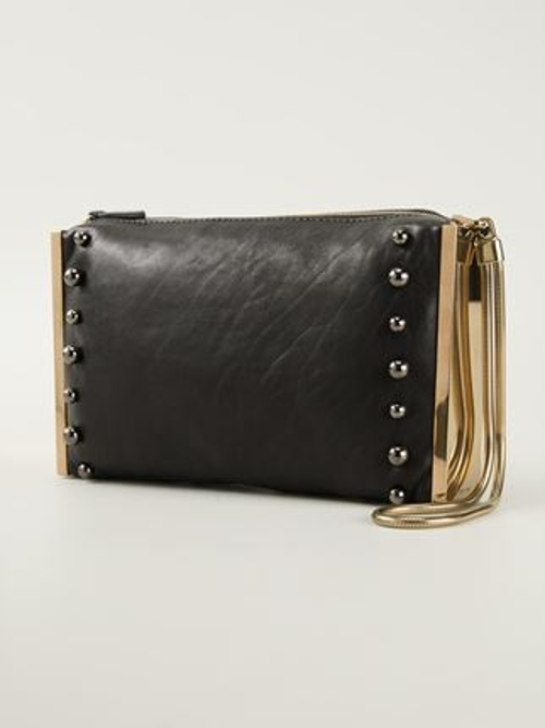 Private Studded Clutch Bag by Lanvin in The Second Best Exotic Marigold Hotel