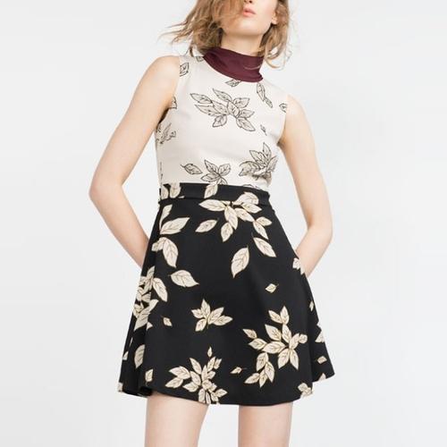 Printed Dress by Zara in Pretty Little Liars - Season 6 Episode 19