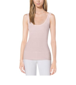 Cashmere Tank Top by Michael Kors Collection in Suits
