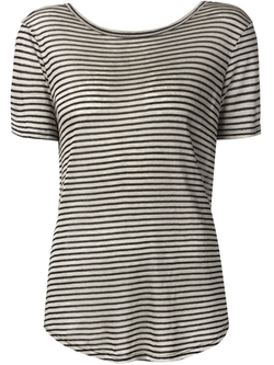 Striped T-Shirt by Enza Costa in Sex and the City