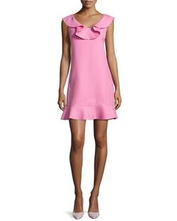 Ruffled Scoop-Neck Dress by Valentino in Scream Queens