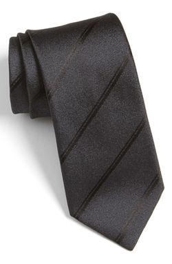 Stripe Silk Tie by Hugo in The Blacklist