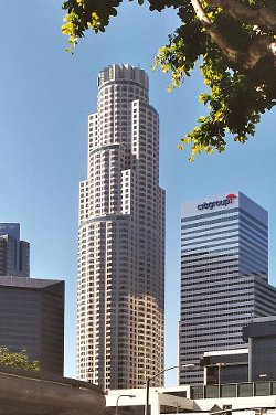 Los Angeles, California by U.S. Bank Tower in San Andreas