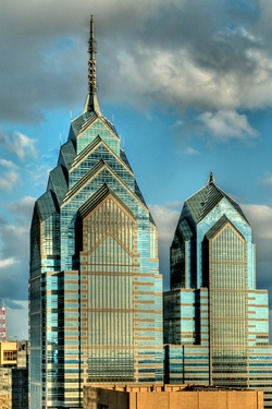 Philadelphia, Pennsylvania by One Liberty Place in Creed